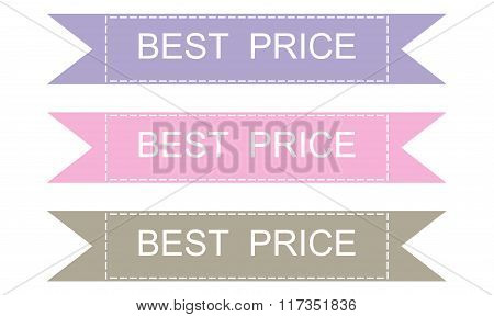 Labels And Best Price Sticers Set