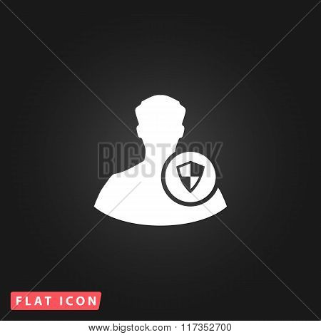 Shield icon with an avatar