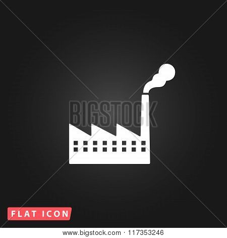 Factory icon or sign