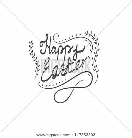 Card With Happy Easter Lettering-4