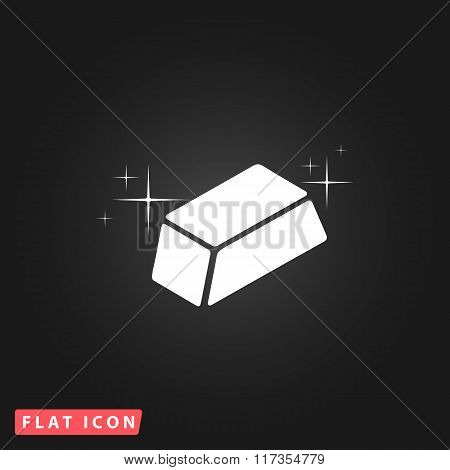 gold flat icon