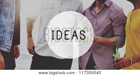 Ideas Idea Creative Imagination Inspiration Invention Concept