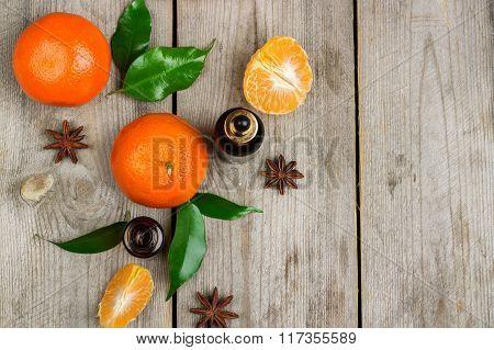 Organic tangerine essential oil