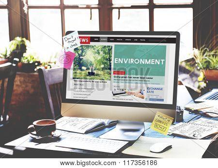 Environment Ecology Conservation Earth Go Green Concept