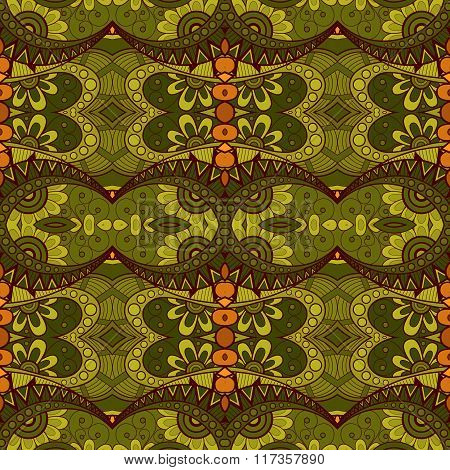 Vector Seamless Vintage Lace Pattern