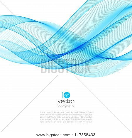 Abstract motion  wave illustration
