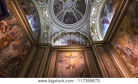 Interiors Of Palazzo Barberini, Rome, Italy