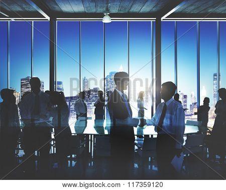 Business Collaboration Corporate Colleagues Partner Concept