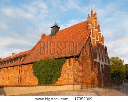 Old Church of Saint Lawrence in Malbork Lower Castle
