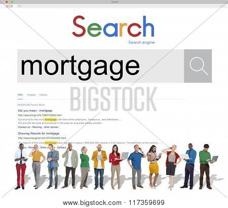 Mortgage Loan Banking Financial Property Concept