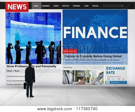 Finance Accounting Banking Budget Credit Debt Concept