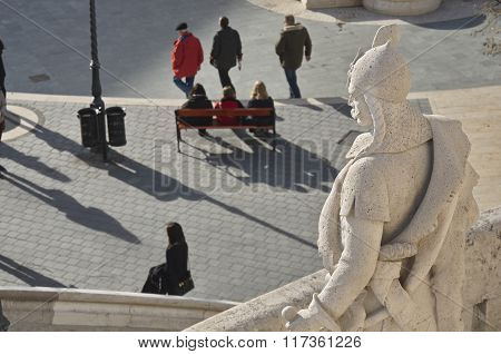 Fisherman's Bastion Sculpture