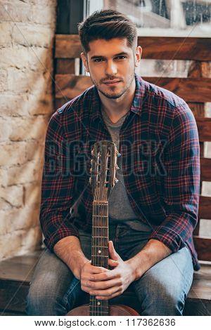 Handsome Musician.