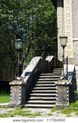 Architectural details of Cetinje
