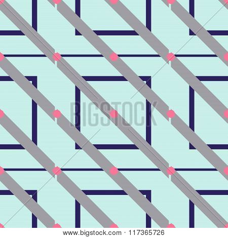 Seamless geometrical patterns in vector