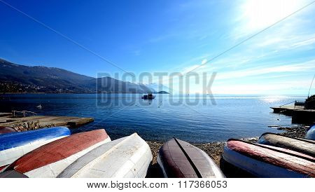 Lake Ohrid, Macedonia
