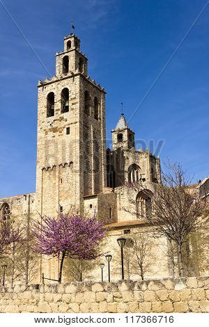 Romanesque Monastery Of Sant Cugat
