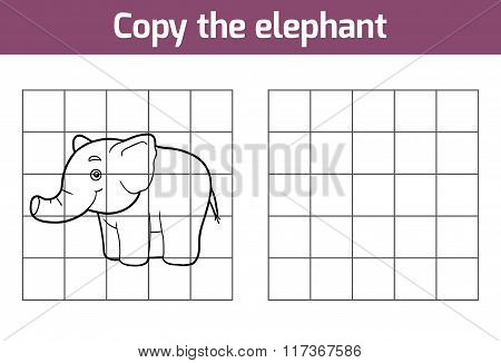 Copy The Picture (elephant)