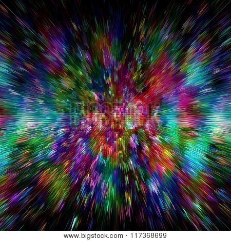 Splash of colors  colorful vibrant background
