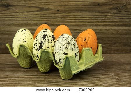 Easter Eggs In The Mold, Decoration