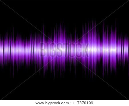 Design abstract digital sound wave.