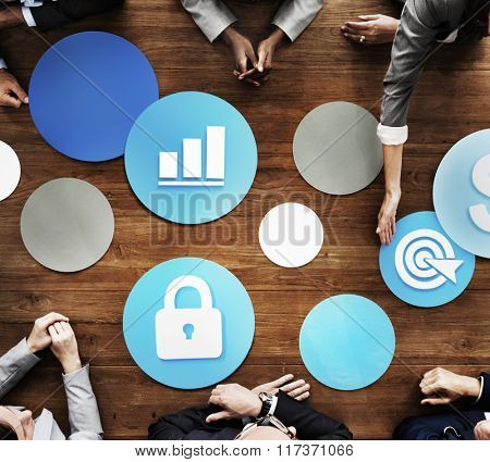 Security Networking Online Internet Communication Concept