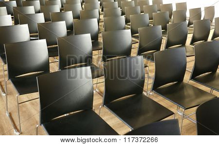 Lecture Hall At Conference Center Without People