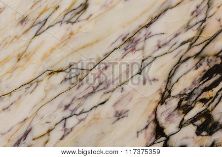 Close-up Texture With Marble Pattern As A Background