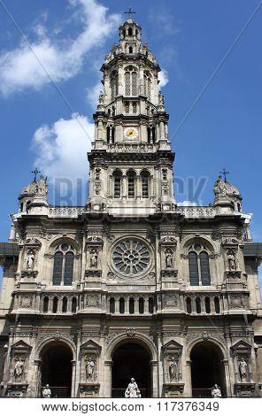 Saint Trinity Church in Paris