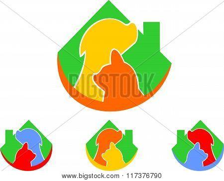 stock logo veterinary