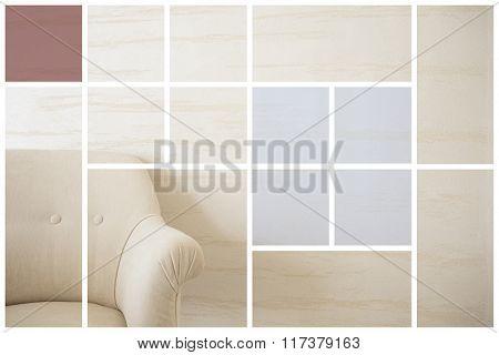 Beige Comfortable Armchair