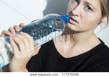 Girl On Water Diet