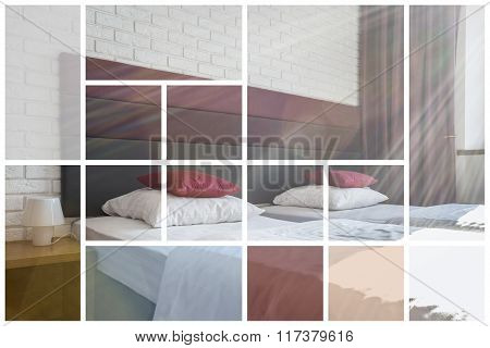 Comfortable Bed In Luxury Apartment