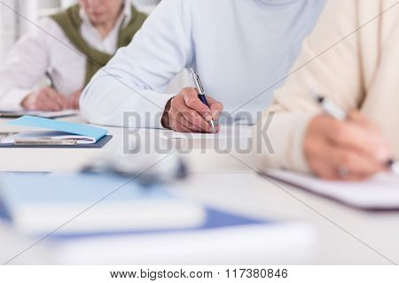 Taking Notes From A Lecture