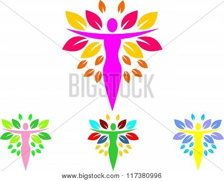 stock logo beauty nature