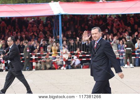 Turkish Prime Minister Recep Tayyip Erdo?an