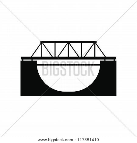 Rail bridge icon