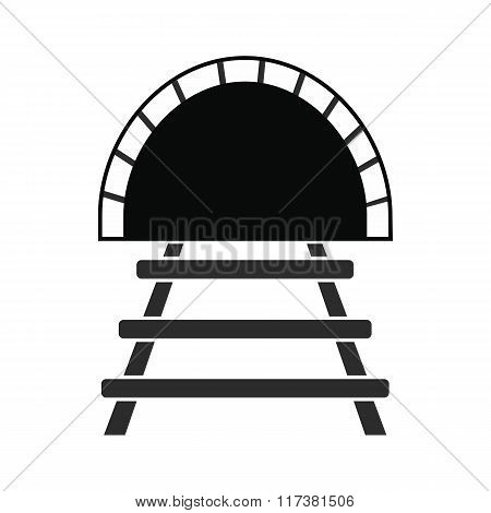 Railway tunnel icon