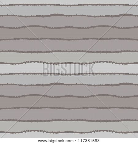 Seamless strip pattern. Horizontal lines with torn paper effect. Shred edge background. Pastel color
