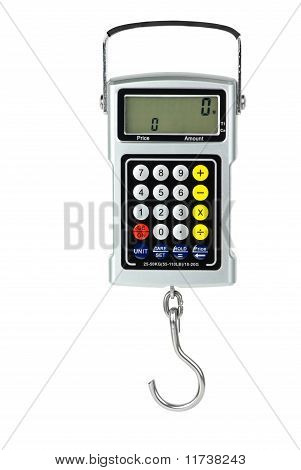 Digital Fishhook Scales With Built-in Calculator