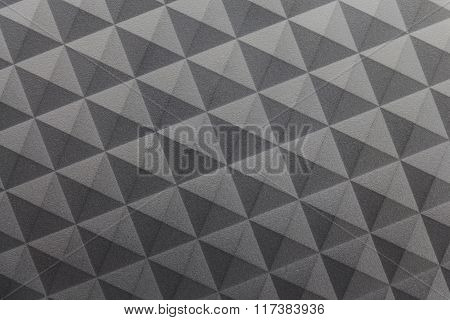 Camouflage background could be seen as a triangle or rectangle.
