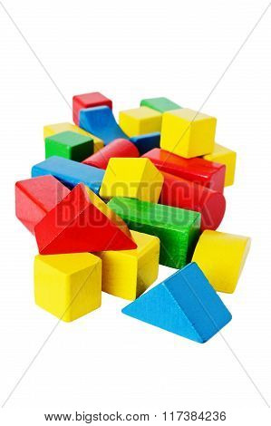 Colored Wooden Cubes