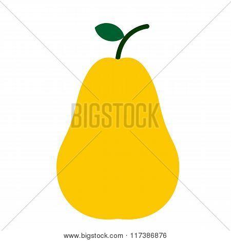 Pear flat icon