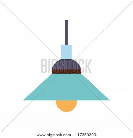 Lamp flat icon