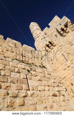 King David tower.