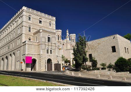 Notre Dame of Jerusalem.