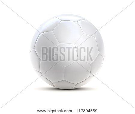 Soccer Ball White 3D