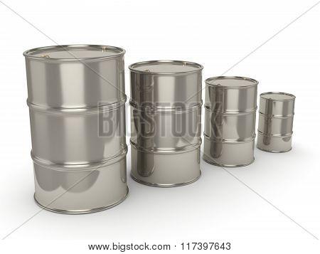 Set Chrome Barrels