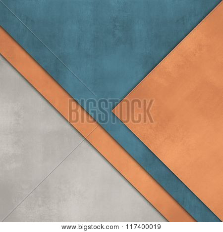 Paper layers - abstract flat presentation template