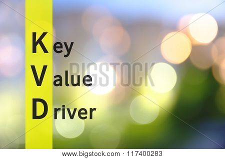 Key Value Driver